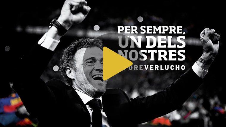 """""""Uno de los nuestros"""": Las razones del Barça para homenajear a Lucho"""