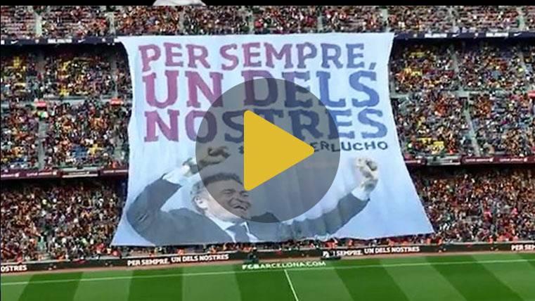 El precioso tributo del FC Barcelona a Luis Enrique
