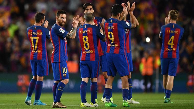 El FC Barcelona superó el récord histórico de goles en Liga