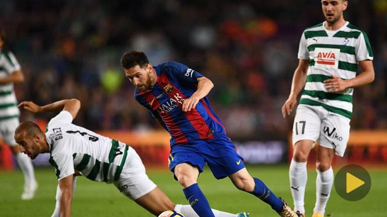 El golazo de Messi que da la vuelta al mundo en las redes