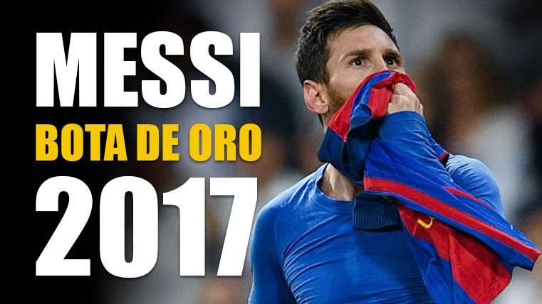 Otra temporada de escándalo para Leo Messi: Bota de Oro