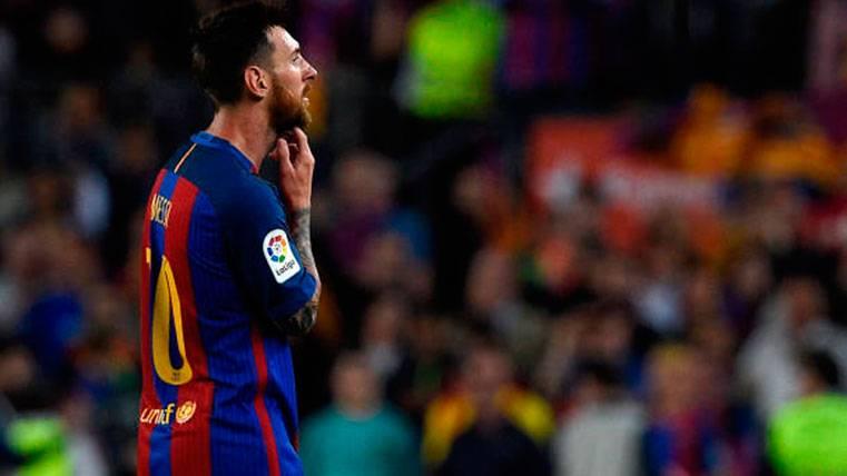 La 2016-2017, otra decepción más para Lionel Messi
