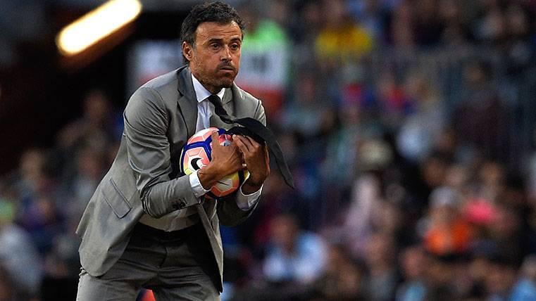 Luis Enrique negó a Valverde y cargó contra los medios