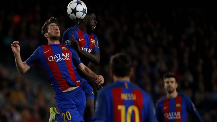 Umtiti y el Barcelona ya fijan la vista en la final de Copa