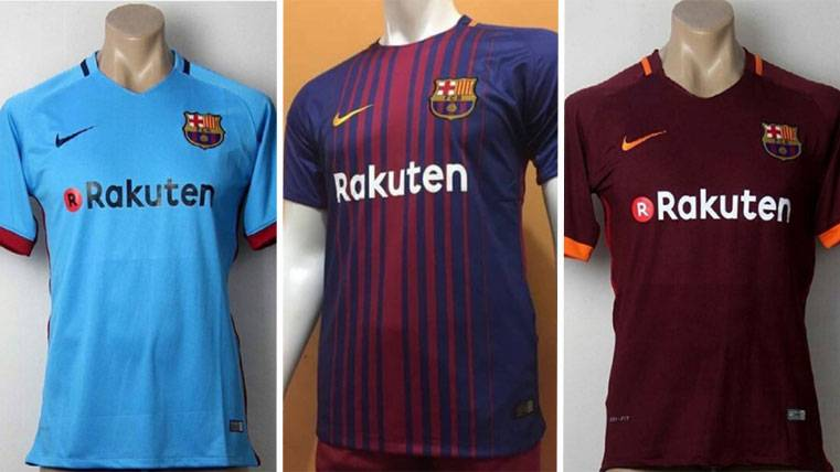 newest collection 6cf12 71909 These are the three T-shirts of the FC Barcelona 2017-18