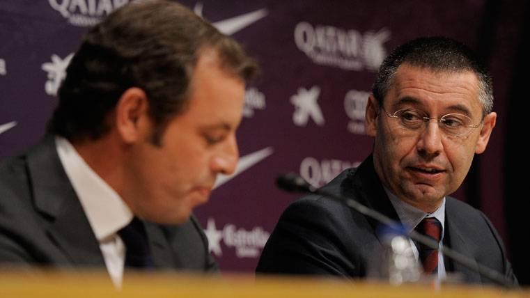 El Barcelona, sin necesidad de pronunciarse sobre Rosell