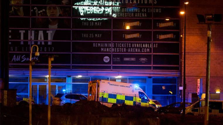 El apoyo del Barça a las víctimas del atentado en Manchester