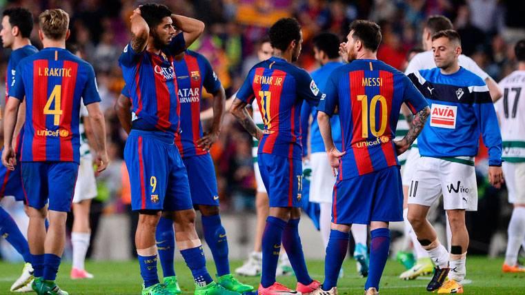 La sensación en el vestuario del Barça tras perder LaLiga