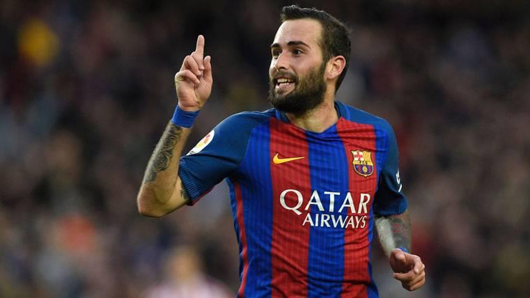 Misterioso mensaje de Aleix Vidal con la camiseta del Barça