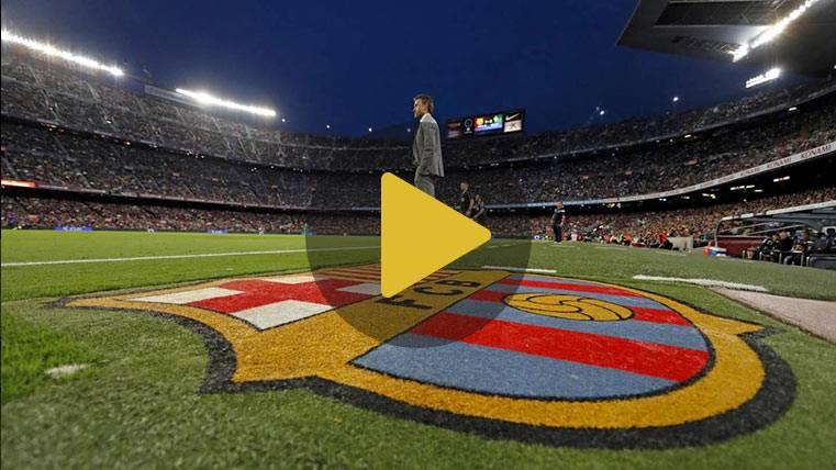 Así vivió Luis Enrique su último partido en el Camp Nou
