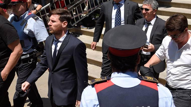 Messi no ingresará en prisión pese a la condena por fraude