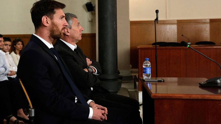 """Garicano: """"Messi ya estaría en la cárcel en Estados Unidos"""""""
