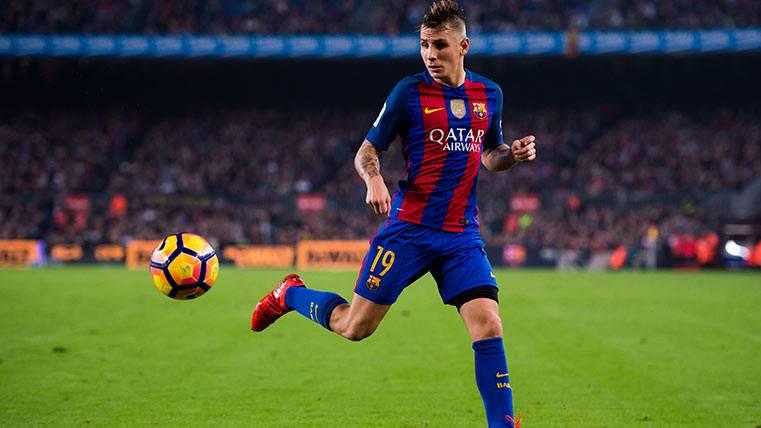 """Digne: """"El Barça es el equipo donde siempre quise jugar"""""""