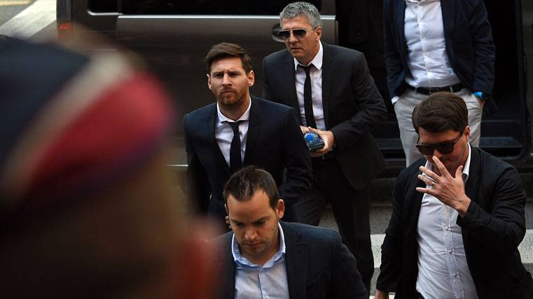 Apoyo incondicional del Barça a Leo Messi tras la condena