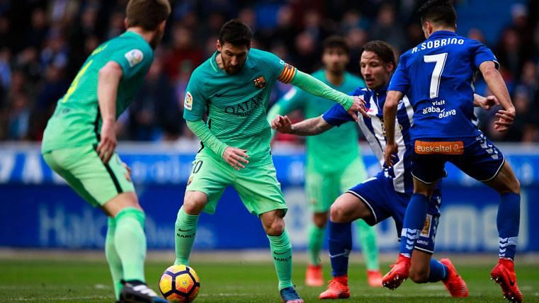 """El miedo del Alavés: """"Si Messi tiene el día, será muy difícil..."""""""