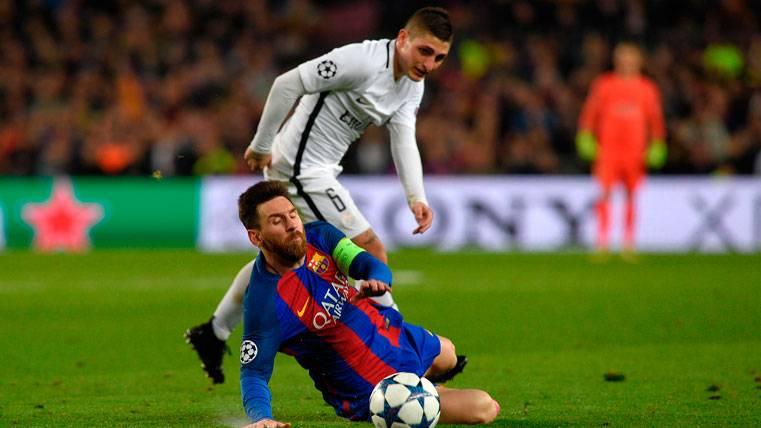 Verratti, con el Barça como primera opción si deja el PSG