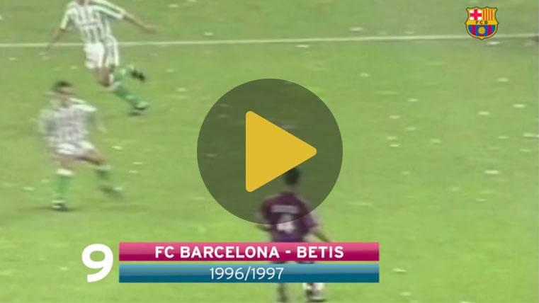 Los 10 mejores goles del Barça en las finales de Copa del Rey