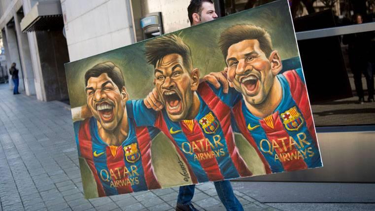 """El potencial demoledor de la """"MSN"""" del Barça, al detalle"""