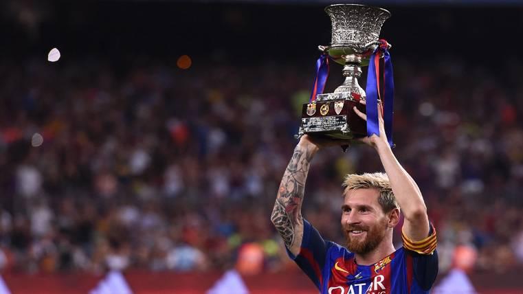 Tremendo balance de Messi en las finales con el Barça