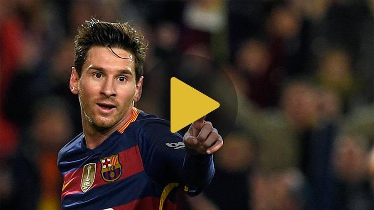 Leo Messi, mucha pólvora en las finales de Copa del Rey