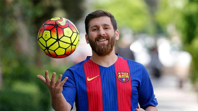 VIRAL: El doble iraní de Leo Messi aprovecha su parecido