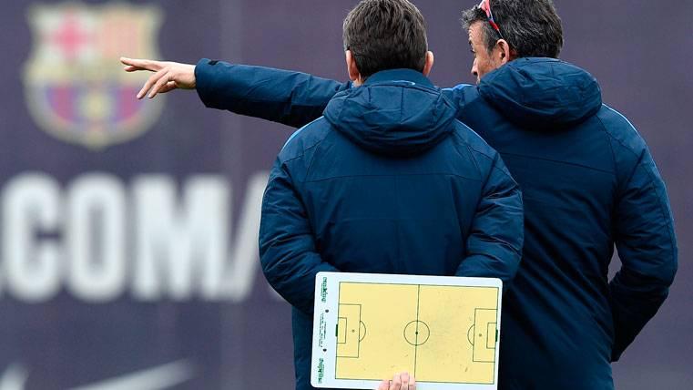 Unzué se lleva a parte del staff de Luis Enrique para Vigo