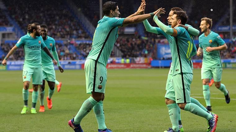 La cara y cruz del Barça ante el Alavés esta temporada