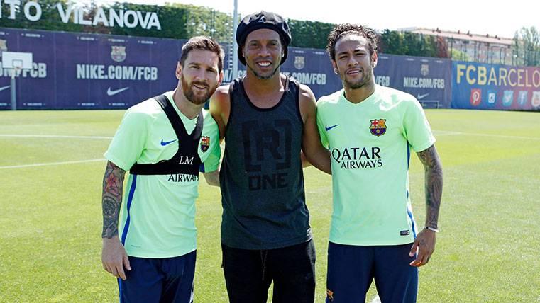 """La """"MRN"""": Pasado, presente y futuro del FC Barcelona"""