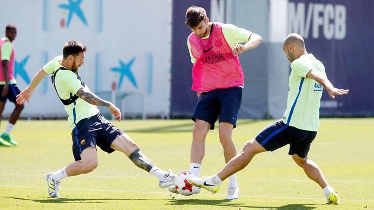 Piqué, Mascherano y ¡Aleix Vidal! reciben el alta médica