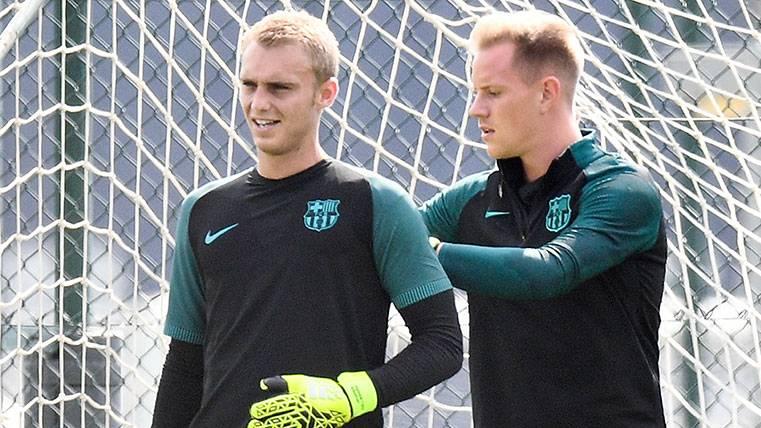 La nueva camiseta del Barça para Ter Stegen y Cillessen