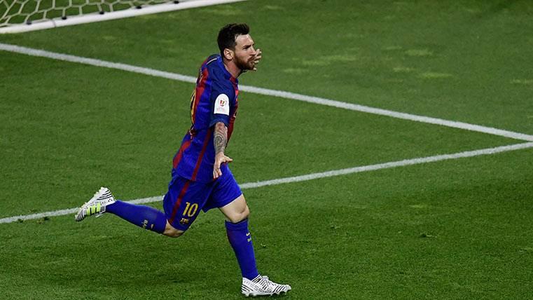 Pichichi Messi golpeó primero con un golazo de órdago