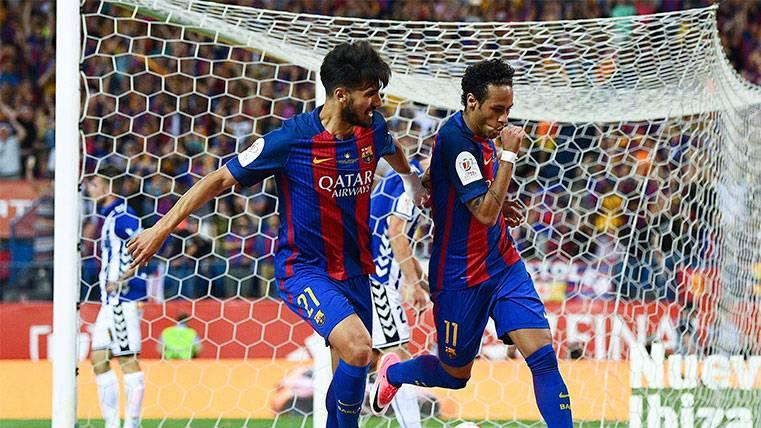 El gol de Neymar, en fuera de juego por una cabeza