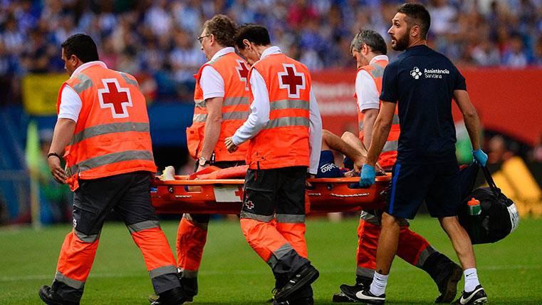 Comunicado del Barça: Javier Mascherano, con la rodilla tocada