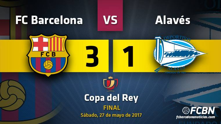 El Barça conquista la Copa del Rey con un genial Messi