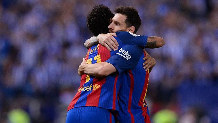 El penalti de Rubén Sobrino a Neymar que enfadó a Leo Messi