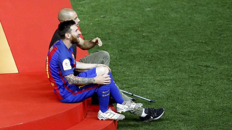 Gran gesto de Messi con Masche: Lo primero, la amistad