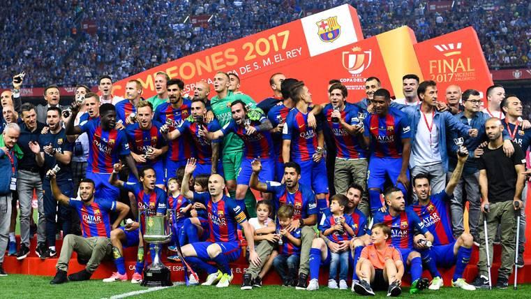 """HEGEMONÍA: El Barça alarga la leyenda de """"Rey de Copas"""""""