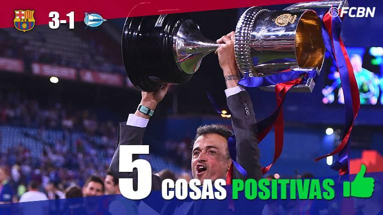 Las cinco cosas positivas del FC Barcelona-Alavés de Copa