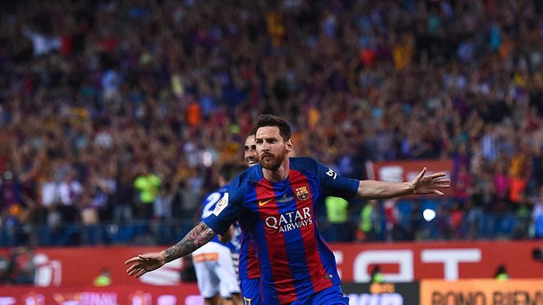 Demoledor dato estadístico de Messi: 26 goles en 25 finales