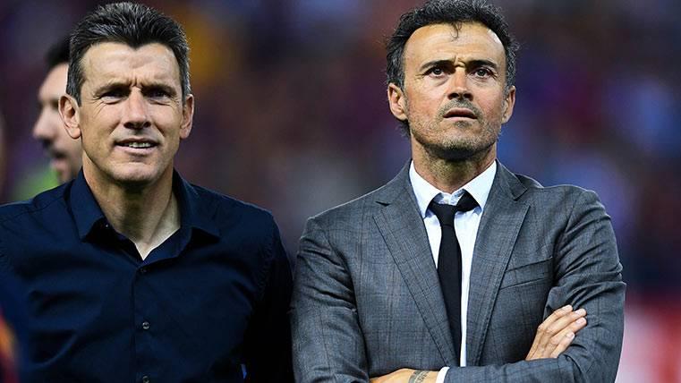 El regalo de los jugadores del Barça para Juan Carlos Unzué
