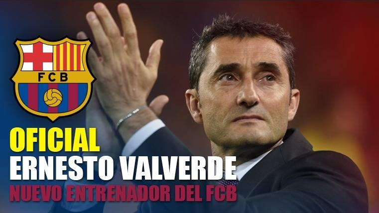 OFICIAL: Ernesto Valverde, nuevo entrenador del FC Barcelona