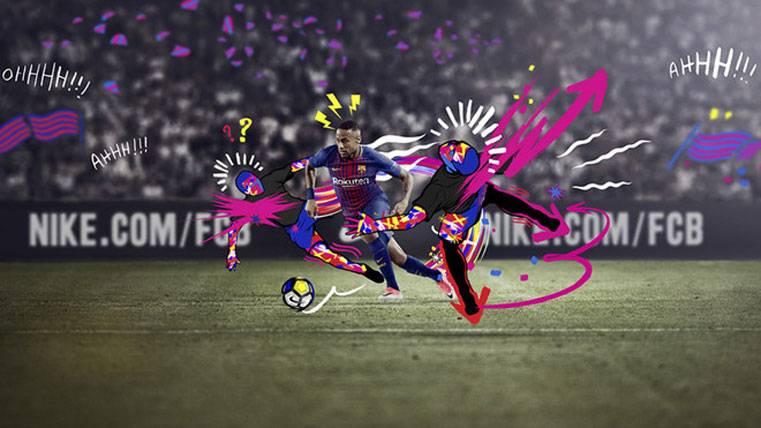 Orgullo de Neymar Jr con la nueva camiseta del Barcelona