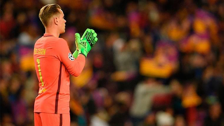 Ter Stegen y su condición para renovar con el FC Barcelona