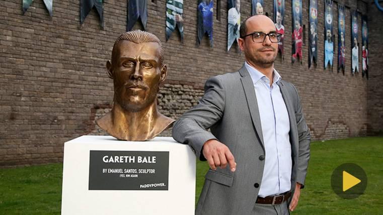 VIRAL: El autor del busto de Cristiano hace uno de Bale