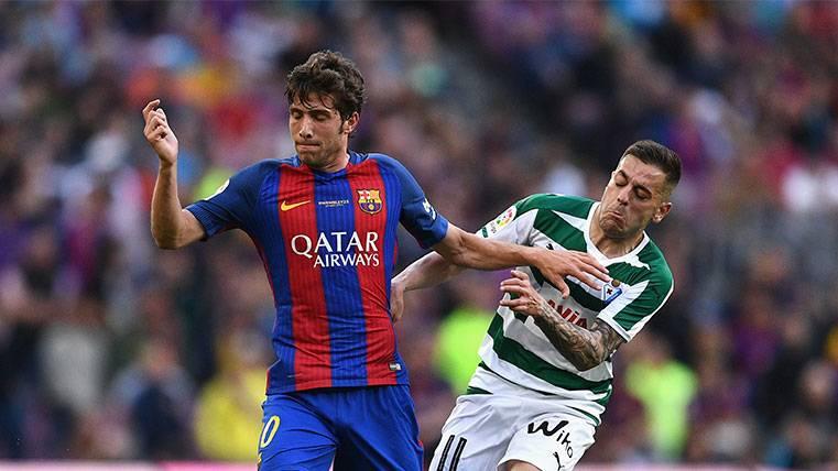 Sergi Roberto se cae de la convocatoria de la selección