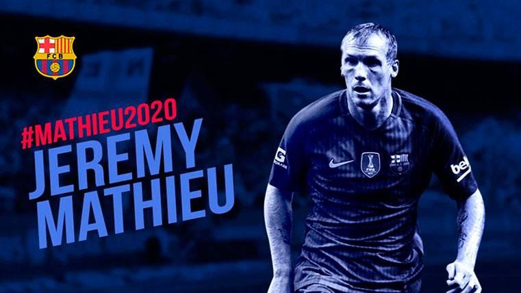 La broma del día: Dan por renovado a Mathieu hasta 2020