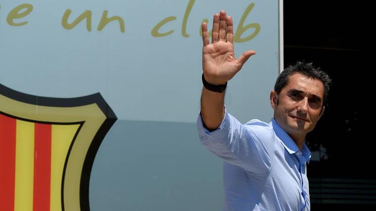 Valverde, el 29º entrenador que ha sido jugador del Barça