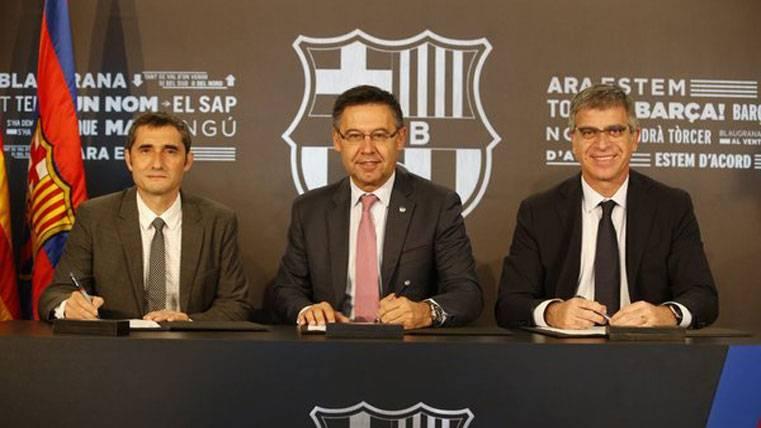 "Reto ""apasionante"" para Valverde tras la firma de contrato"