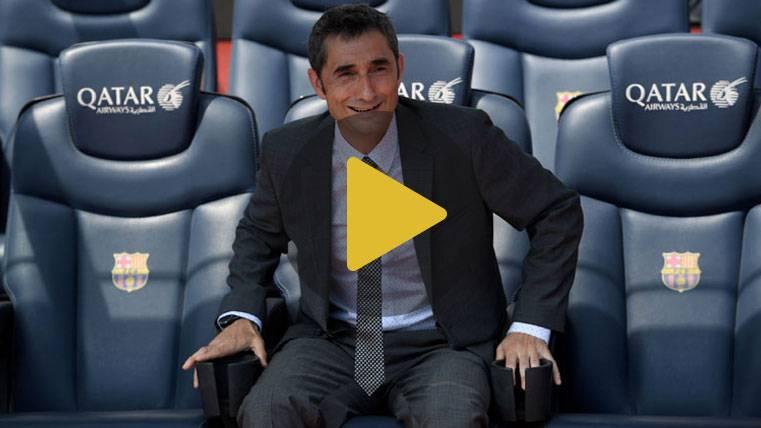Regalos, banquillo del Camp Nou y visita de Valverde al vestuario