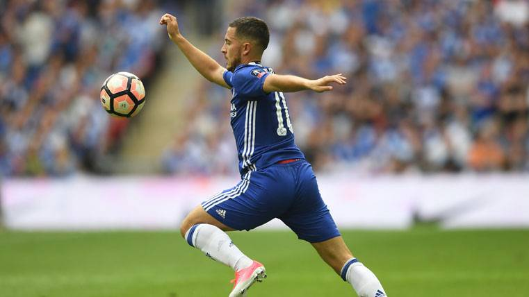 Triple intentona del Real Madrid para fichar a Eden Hazard